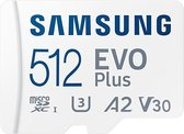 Samsung EVO Plus MicroSDXC  - Geheugenkaart - 512 GB - versie 2021