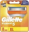 Gillette Fusion5 Scheermesjes Voor Mannen - 8 Navulmesjes