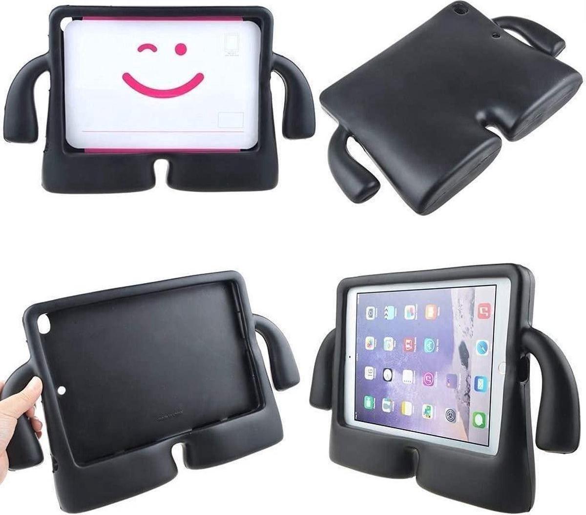 SMT Apple iPad Pro 11 Kinder Tablethoes - Cover - Shockproof - Kidsproof - Handvat - Stevige Foam - Draagbaar - iPad Pro 2018 - 2020 - Zwart