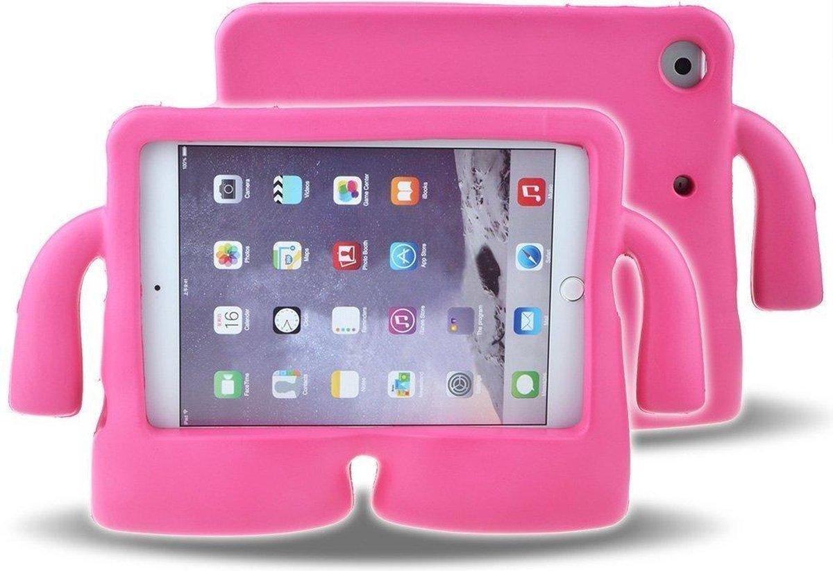 SMT Apple iPad Pro 11 Kinder Tablethoes - Cover - Shockproof - Kidsproof - Handvat - Stevige Foam - Draagbaar - iPad Pro 2018 - 2020 - Roze