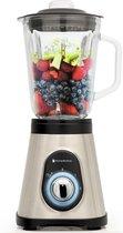 KitchenBrothers Smoothie Blender - 3 Standen - 1.5 Liter - 700W - RVS/Zwart