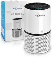Qumax Luchtreiniger met HEPA Filter - Air Purifier met UV-C - Timer - Slaapmodus - Laag geluidsniveau - CADR 250m³/h - Wit