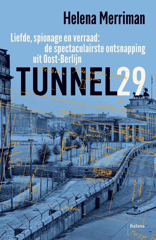 Boek cover Tunnel 29 van Helena Merriman (Onbekend)