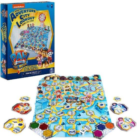 Afbeelding van het spel Spin Master Games - PAW Patrol De Film - Avonturenstad-bordspel