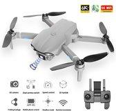 LUXWALLET Nocchi 5D - 20 KM/h - 249 Gram - 6K Camera + Stabilisator - 5Ghz WiFI FPV GPS Drone - Live Video + 2 Accu + Opbergcase
