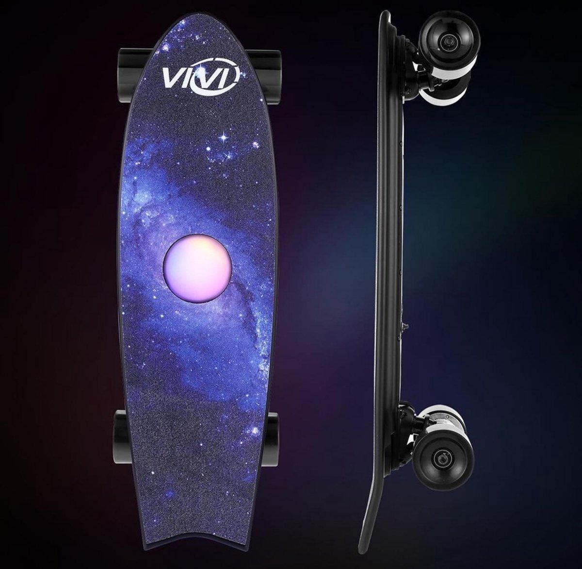 Elektrisch Longboard - Elektrisch Skateboard - Inclusief Controller - 35 km/u - Space Model