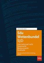 Educatieve wettenverzameling  -   Sdu Wettenbundel Sociaal Juridische Dienstverlening 2021-2022 (set 2 delen)