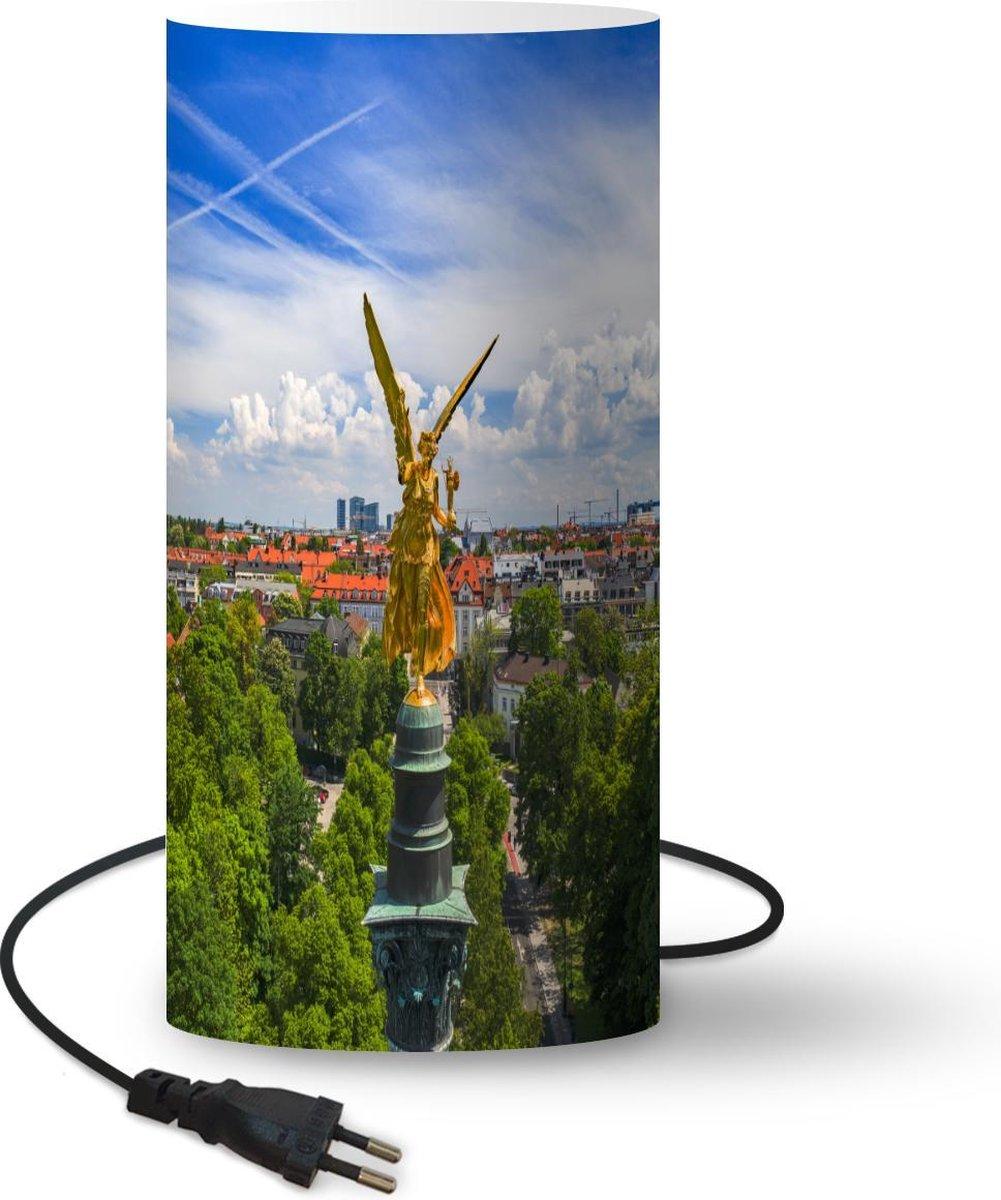 Lamp München - Duitsland - Fontein - 33 cm hoog - Ø16 cm - Inclusief LED lamp