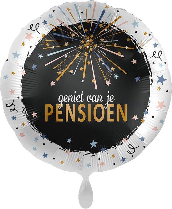 Everloon - Folieballon - Geniet Van Je Pensioen - 43cm - Voor Pensioen/VUT