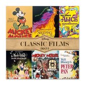 Disney kalender 2022 klassiek-tekenfilms-Sneeuwwitje-Bambi-formaat 30x30cm