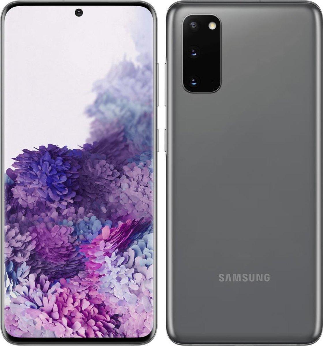 Samsung Galaxy S20 5G Duo – Alloccaz Refurbished – C grade (Zichtbaar gebruikt) – 128GB – Cosmic Gray