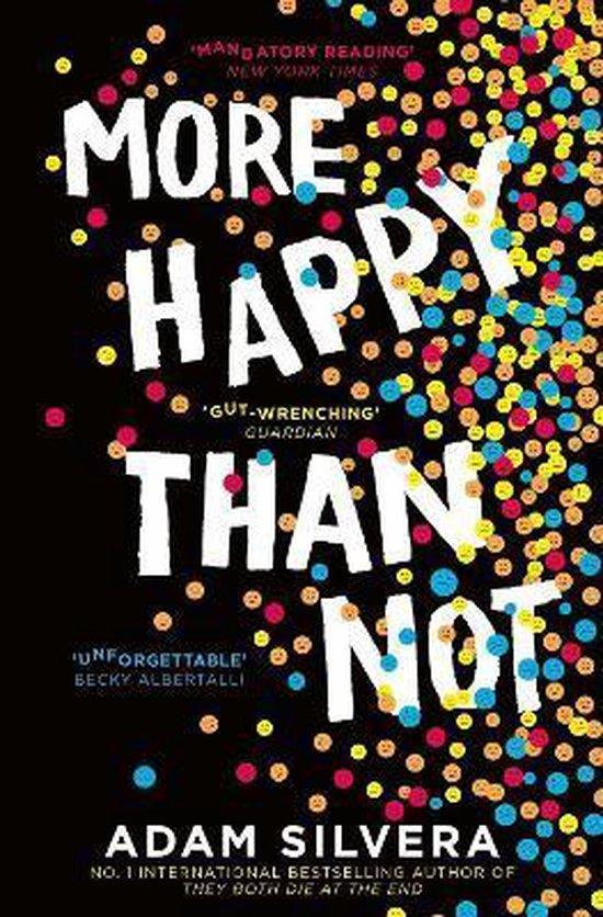 Boek cover More Happy Than Not van Adam Silvera (Paperback)