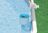 Intex zwembad onderhoud - Oppervlakte skimmer Intex deluxe + wandbevestiging - Intex 28000