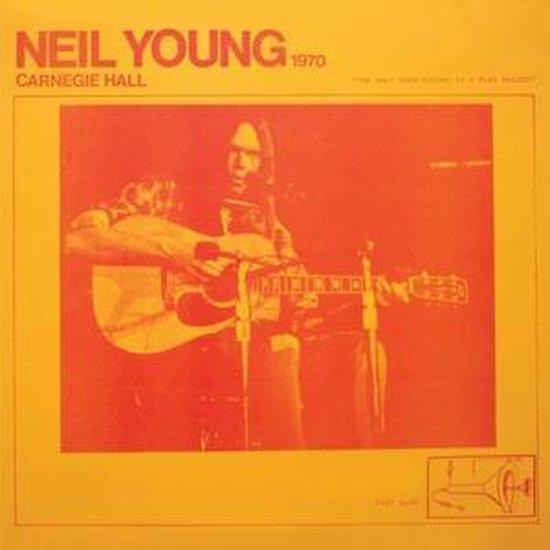 CD cover van Carnegie Hall 1970 van Neil Young