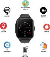 GPS Horloge 4 YOU - GPS Horloge kind - GPS Tracker - Smartwatch voor kinderen - Kinderhorloge - Gratis simkaart en Gratis app - SOS Knop - 4G verbinding- Waterdicht - Live GPS Locatie - HD (Video)bellen - Veiligheidzone instellen - Camera - Zwart 15