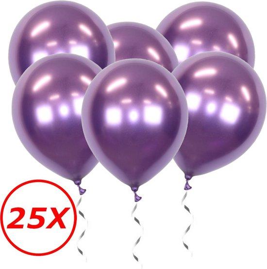 Paarse Ballonnen Verjaardag Versiering Paars Helium Ballonnen Feest Versiering Halloween Decoratie Chrome - 25 Stuks