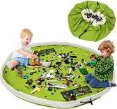 Opbergtas voor speelgoed - Groen