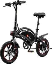 Elektrische  opvouwbare fiets  zwart| BEST SELLER | 2021 MODEL |40 km bereik| 25 km per uur | 42V/10Ah lithium-ion batterij|