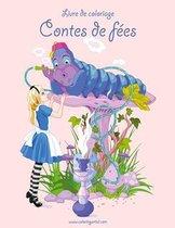 Livre de coloriage Contes de fees 1