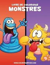 Livre de coloriage Monstres 1