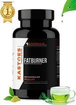 Kastoes® Fat Burner – Afslankpillen – 60 Groene Thee Capsules – Halal