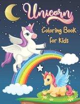 Unicorn Coloring Book for kids: Unicorn Coloring Book for Kids . 38 Unicorn design All Kids