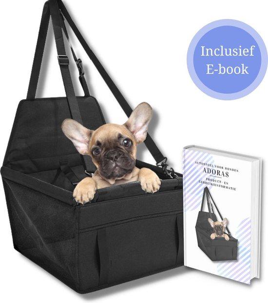 Adoras Autostoel hond – Hondenmand voor in de Auto – Waterdicht Autozitje voor Hond – voor Middelgrote Hond