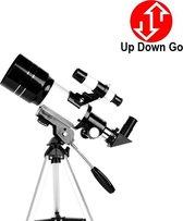 Up Down Go Telescoop – Sterrenkijker – Lenzentelescoop – Maanfilter – 70mm Lens – 150x