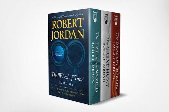 Boek cover The Wheel of Time Boxset Book 1,2 & 3 van Robert Jordan (Onbekend)