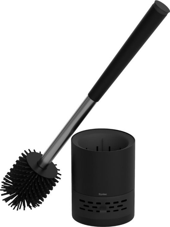 Dynter. TB362 Plus - WC Borstel - Toiletborstel met Houder - Zwart