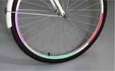 Reflecterend - buiten - waterdicht - fietsband fiets jack - oranje