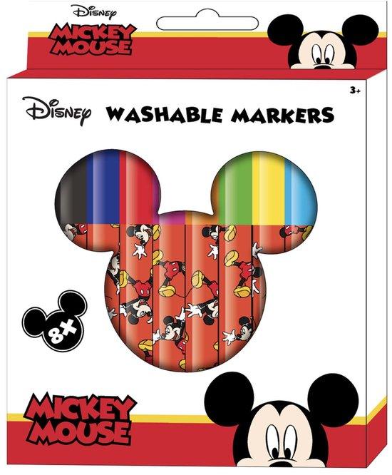Mickey Mouse - Stiften - Uitwasbaar - Kleurstiften