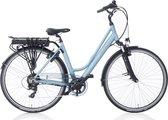 Villette le Bonheur elektrische fiets 50cm, 7 speed, dames, aqua blue, 14Ah, LCD