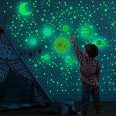 Glow in The Dark Sterren & Planeten Hemel - 525 Stuks