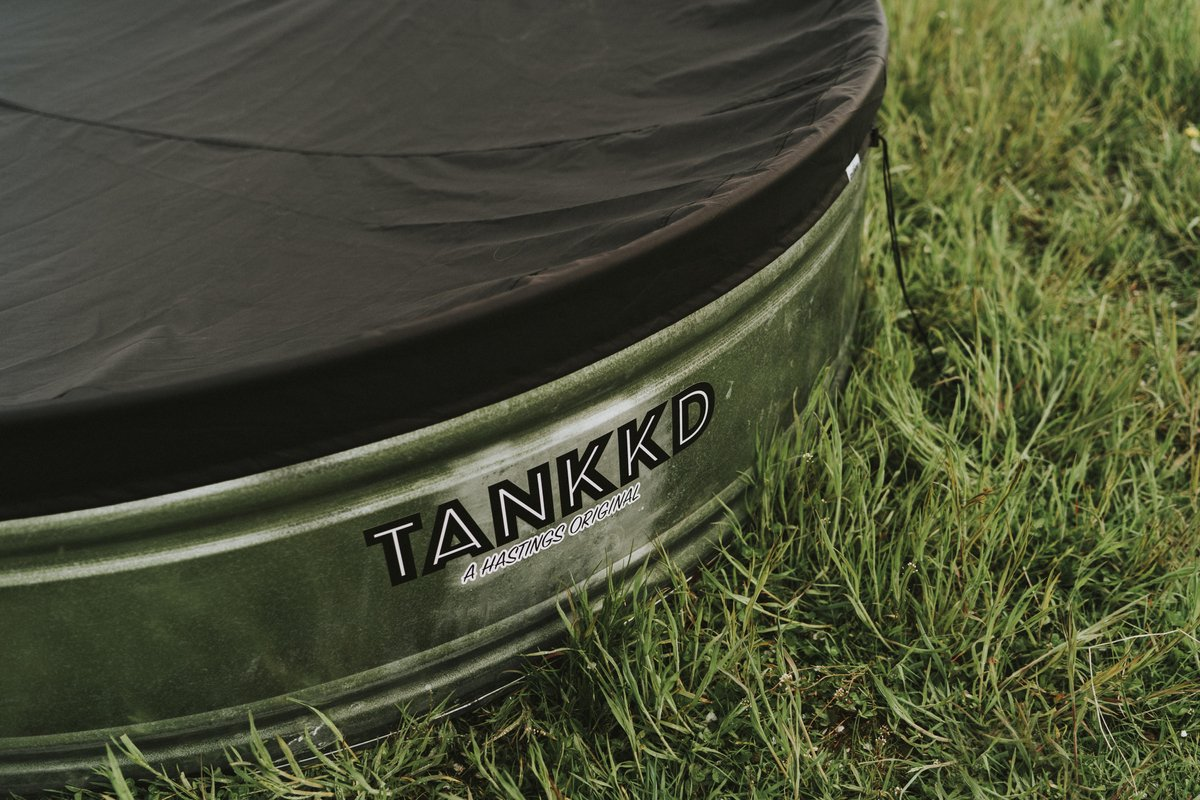 Tankkd stock tank pool cover PU 122 cm ovaal