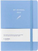 A-Journal My Journal Agenda 2022 Lavendel blauw
