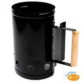 CuisiNoon® BBQ Starter - Brikettenstarter - BBQ houtskoolstarter - BBQ accessoires - In 20 min. Eten