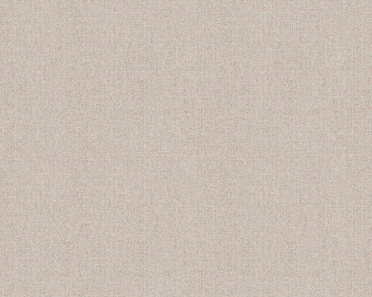 BEIGE LINNENLOOK BEHANG - AS Creation Hygge 363806