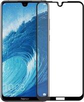 Let op type!! MOFI 9H oppervlaktehardheid 2.5D Arc rand Explosieveilig volledig scherm getemperd glas Film voor Huawei Honor 8 X Max(Black)