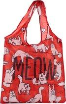 opvouwbare tas Simon's Cat Boodschappentas 54 x 39 cm