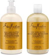 Shea Moisture Raw Shea Butter Restorative Shampoo & Conditioner Set