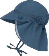 Lässig Splash & Fun Sun Protection Zonnehoed Flaphoed met UV bescherming -  Navy 2 18-36 maanden, maat 50/51