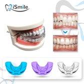 iSmile® - Rechte Tanden Beugel - Rechte Tanden Bitje - Knarsbitje - Nachtbeugel - Nachtbeugel  - Knarsen Bitje - Witte tanden