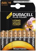 Duracell AAA Plus Power - 16 stuks