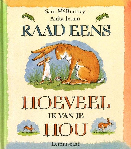 Boek cover Raad eens hoeveel ik van je hou Boek & Mijlpaalkaarten van Sam McBratney (Onbekend)