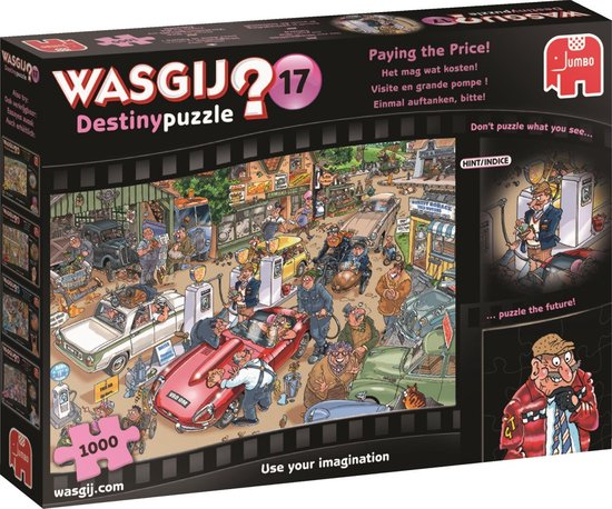 Puzzel Wasgij 17 Het mag Wat Kosten! 1000 Stukjes