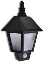 VidaXL LED Solar Muurlamp