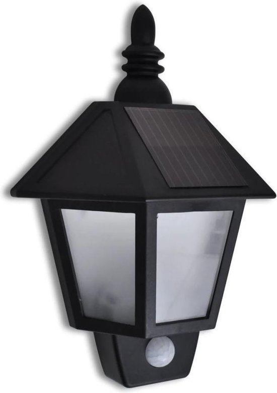 VidaXL LED Solar Muurlamp