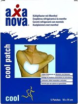Axanova - cool patch - 5 stuks - AX-CP - pijn verlichtende koelpleister