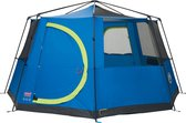 Coleman Octagon 8 - Familietent - 8 Persoons - Blauw/Lime
